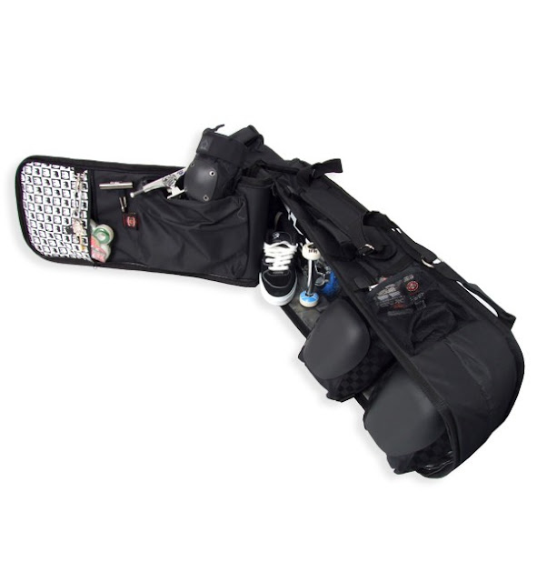decent hardware skate bag