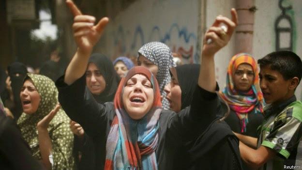 Serangan Meluas, Penduduk Gaza Utara Mencari Perlindungan