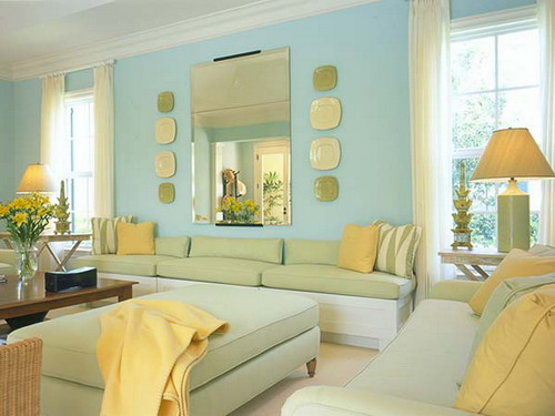 Best ideas to help you choose the right living room color Yellow green living room