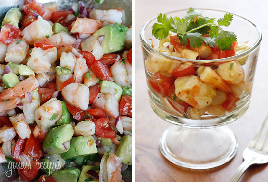 Shrimp and Avocado Salad | Healthy Natural