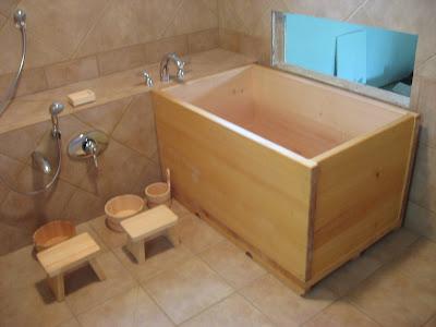 Vasca Da Bagno Stile Giapponese : Arredare etnico vasche da bagno etnici
