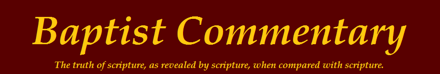 The Baptist Commentary
