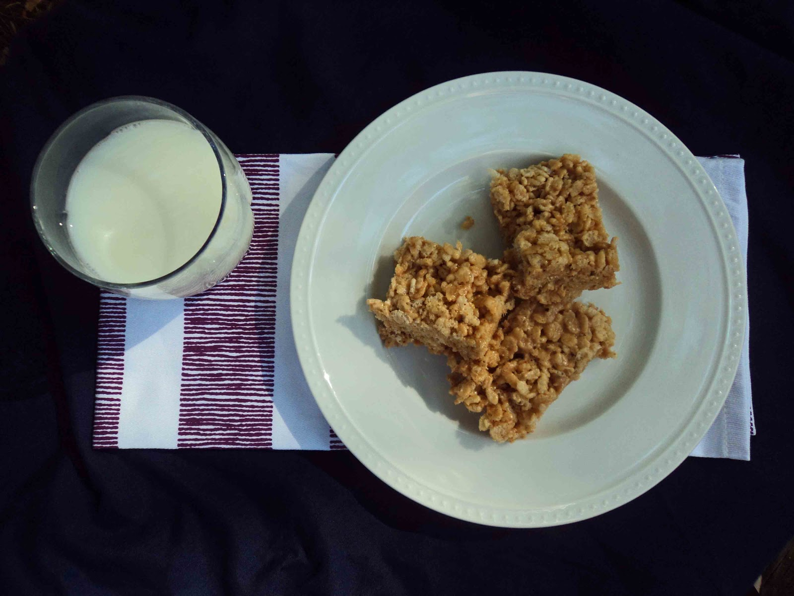 Sweet & Salty Southern Comfort: Peanut Butter Rice Crispy Treats