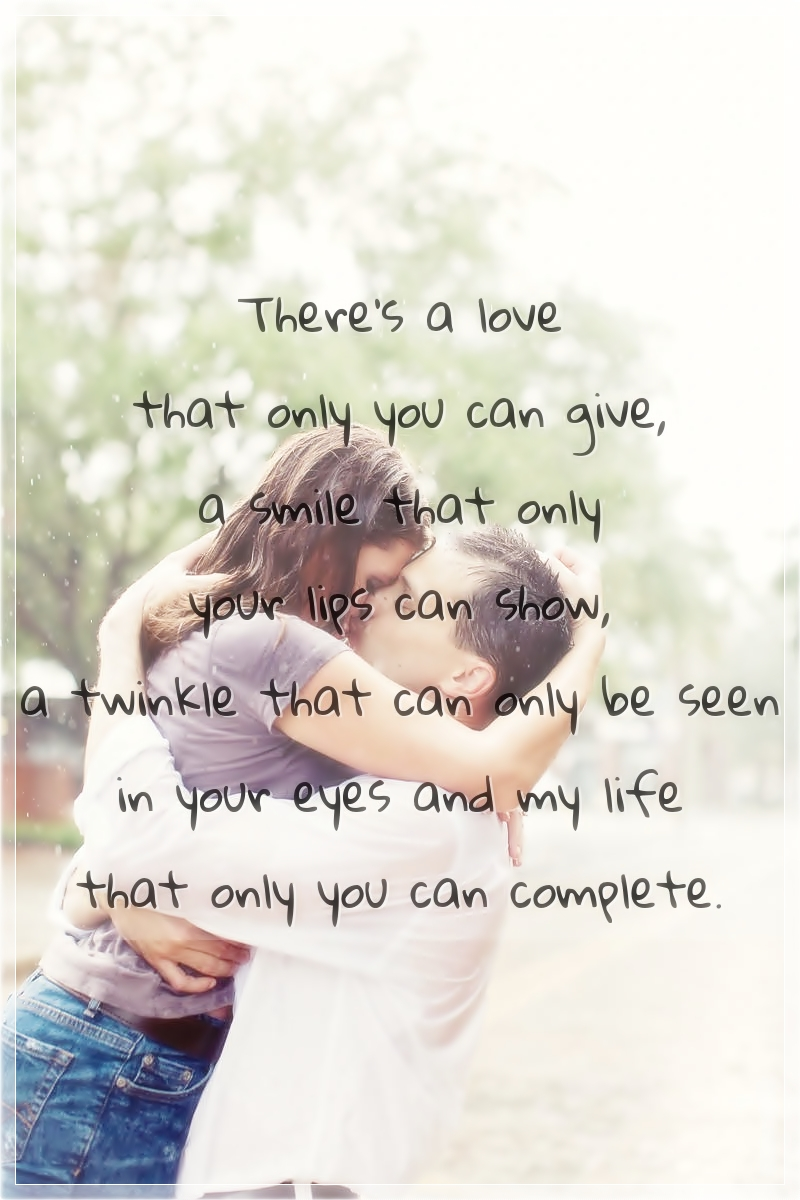 There s a Love That ly You Can Give