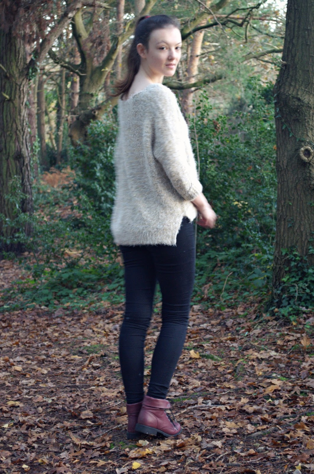 lunar look perfect winter jumper
