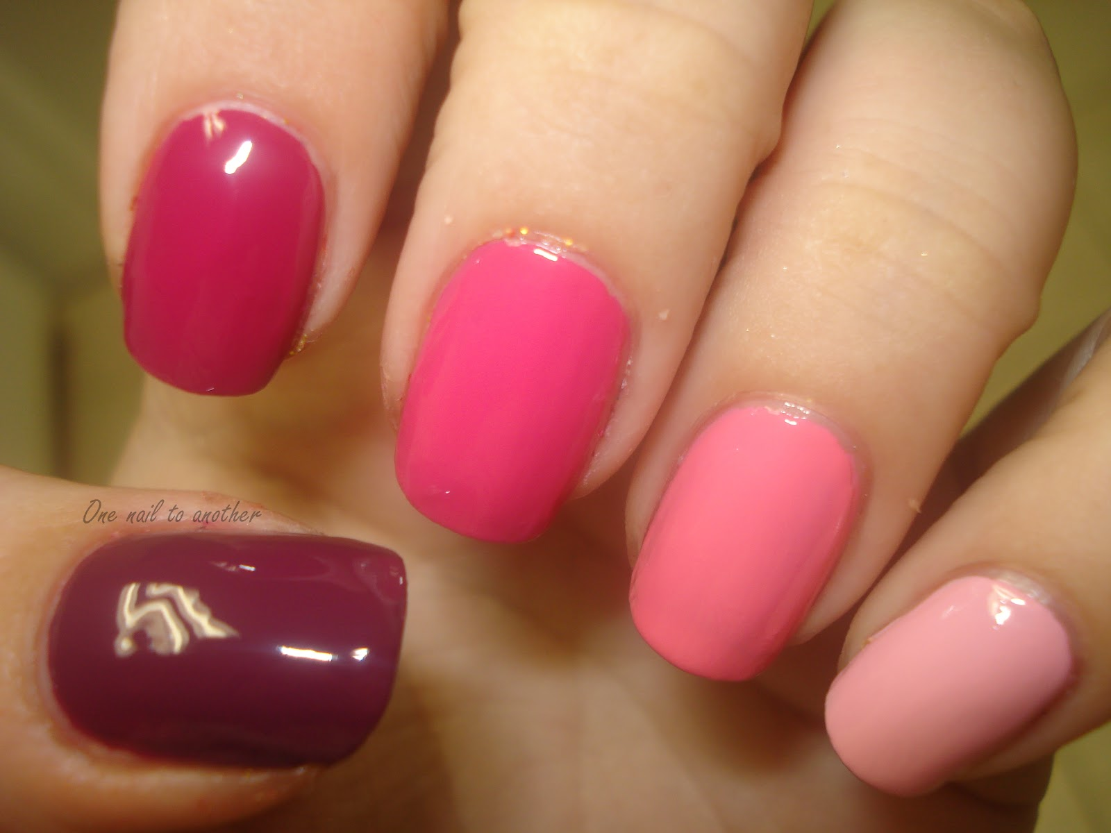 One Nail To Another: ASBMF: Ombre Nails