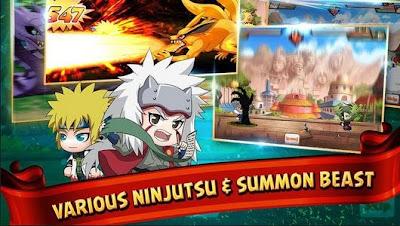 Cara Mudah Dapat Ninja Peringkat S di SD Ninja Heroes