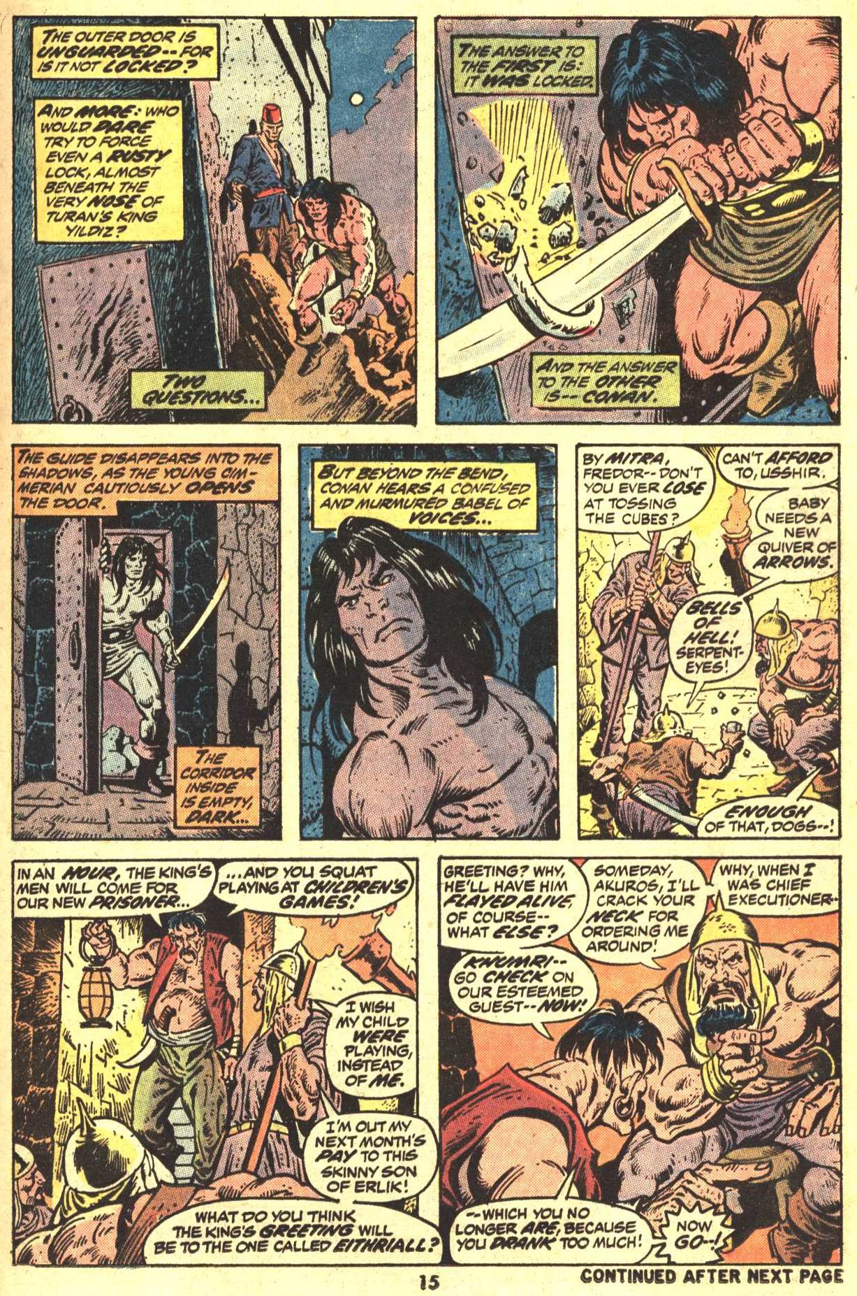 Conan the Barbarian (1970) Issue #29 #41 - English 12