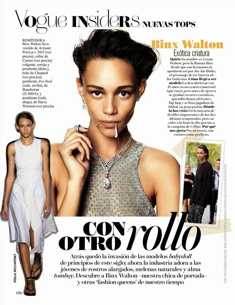 Walton binx vogue spain may