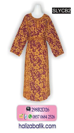 085706842526 INDOSAT, Model Baju Batik Wanita Modern, Model Batik Wanita, Contoh Baju Batik Wanita, SLYCB2, http://grosirbatik-pekalongan.com/longdress-slycb2/