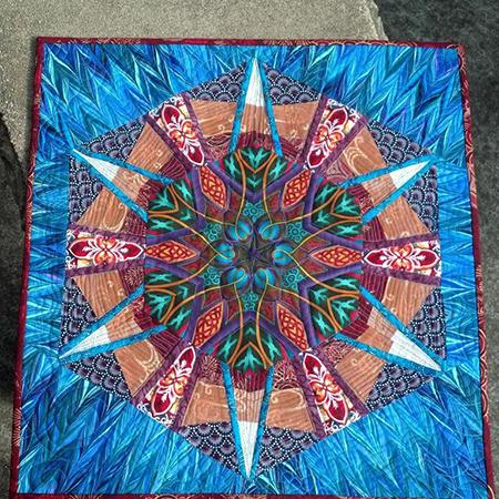 Kaleidoscope Ihtyltyha Quilt