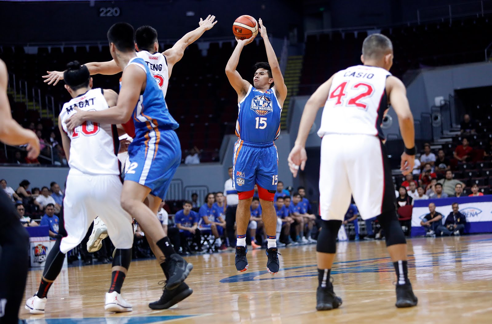 Road Warriors survive Aces, take 1-0 in QF series