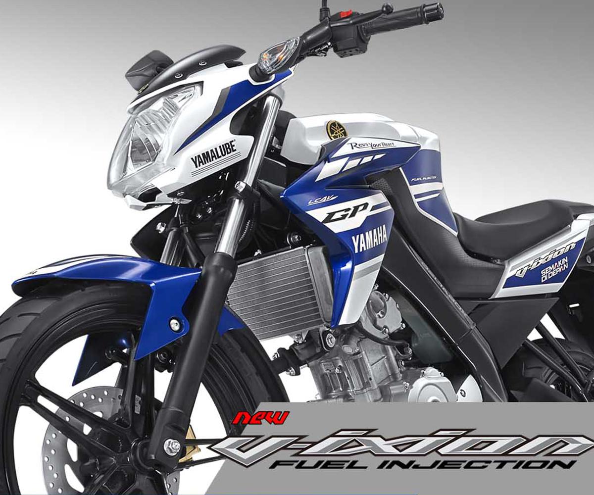 Motor Yamaha Vixion Terbaru Edisi Livery MotoGP
