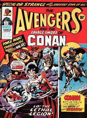 Marvel UK, Avengers #123