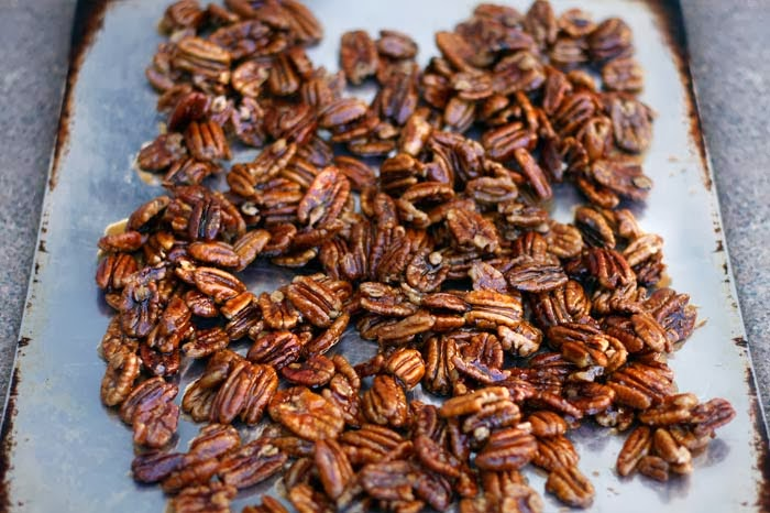 maple syrup pecans Paul Cram