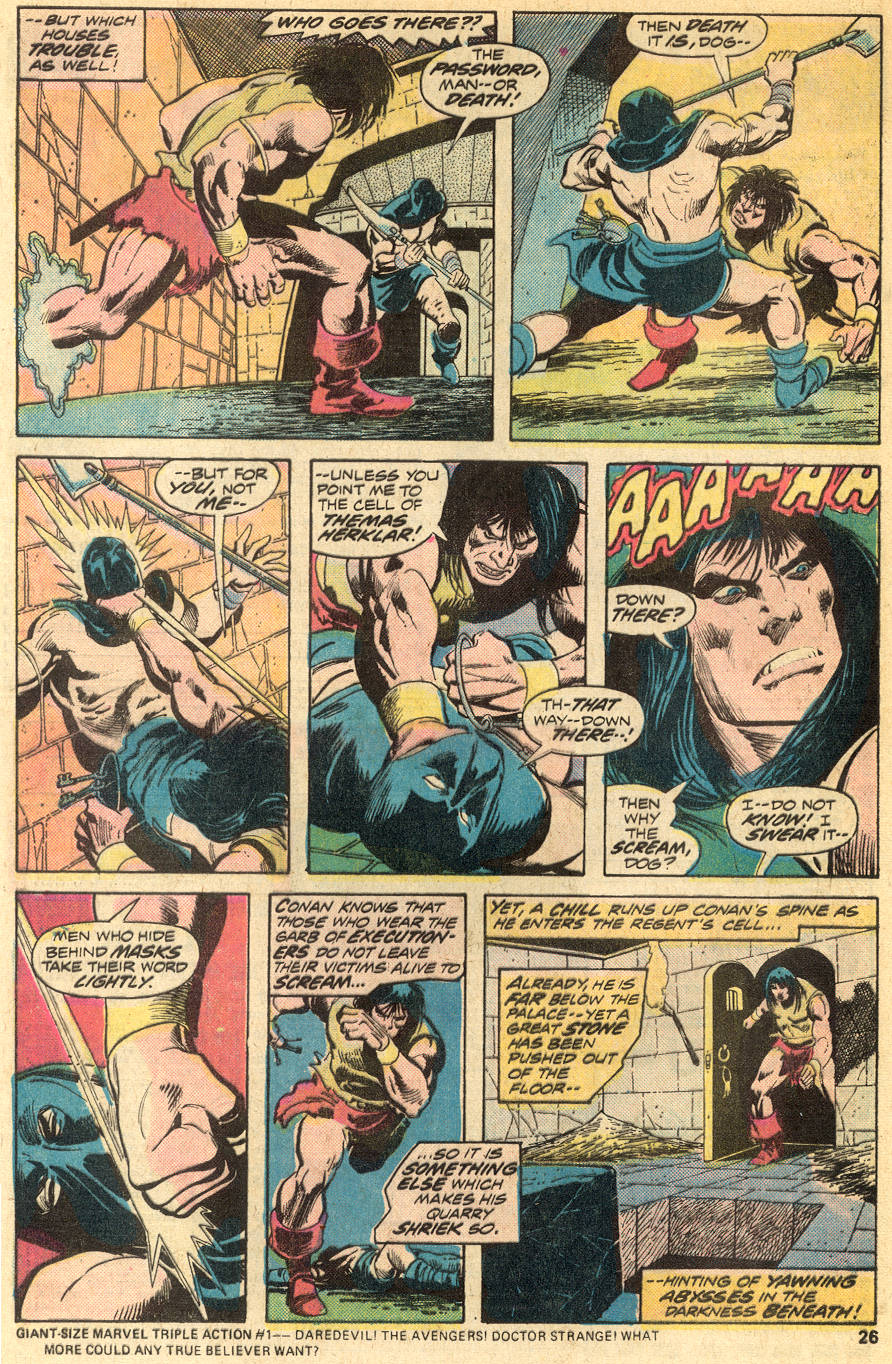Conan the Barbarian (1970) Issue #50 #62 - English 16
