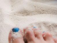 砂浜とネイル | 海水浴などのイラスト・写真素材。無料で商用可