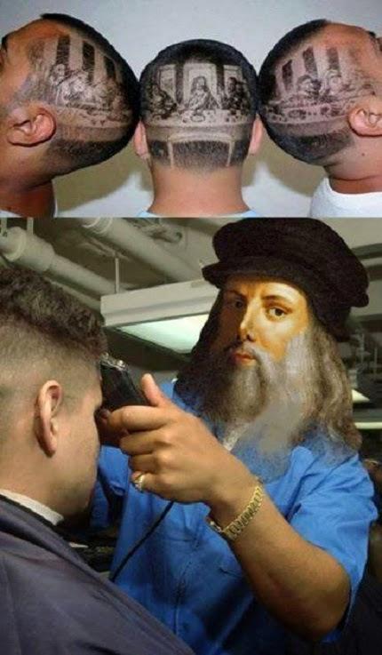 Ese Leonardo Di caprio todo un artista