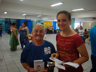 PARTICIPAÇÃO DA COMUNIDADE NO ENCERRAMENTO DO PROJETO ALIMENTAÇÃO SAUDÁVEL