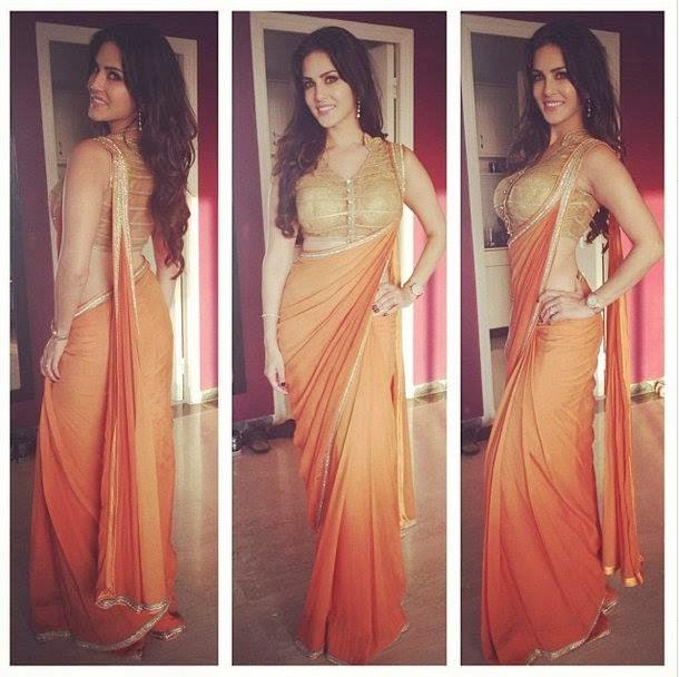 Sunny Leone at Ragini MMS 2 press conference