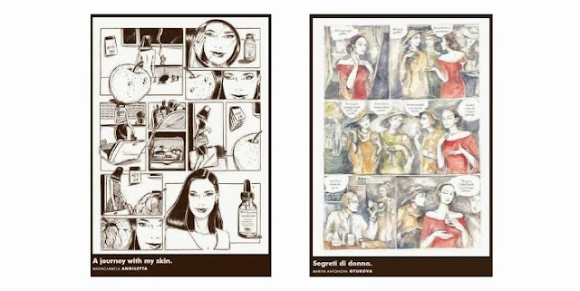 SkinCeuticals Forms of Art Comics 2013 C E Ferulic