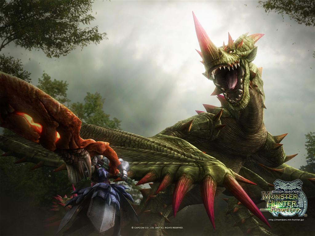 Monster Hunter HD & Widescreen Wallpaper 0.558425719227444