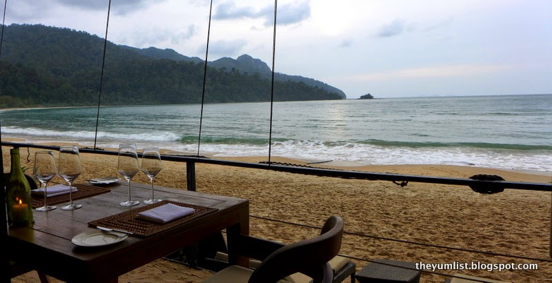 Jala Restaurant, Beachside Dining,The Andaman, Langkawi