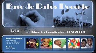 Base de DATOS DOCENTE