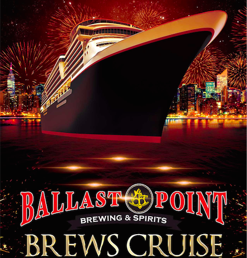 Save on passes & Enter to win tickets to the Ballast Point Brews Cruise - September 1!