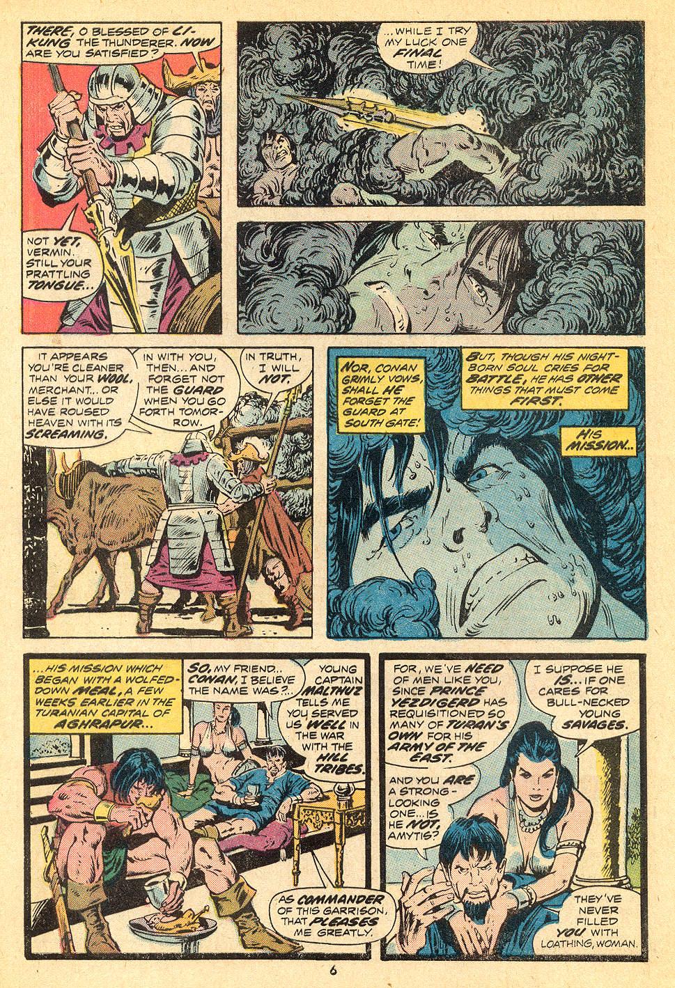 Conan the Barbarian (1970) Issue #32 #44 - English 5