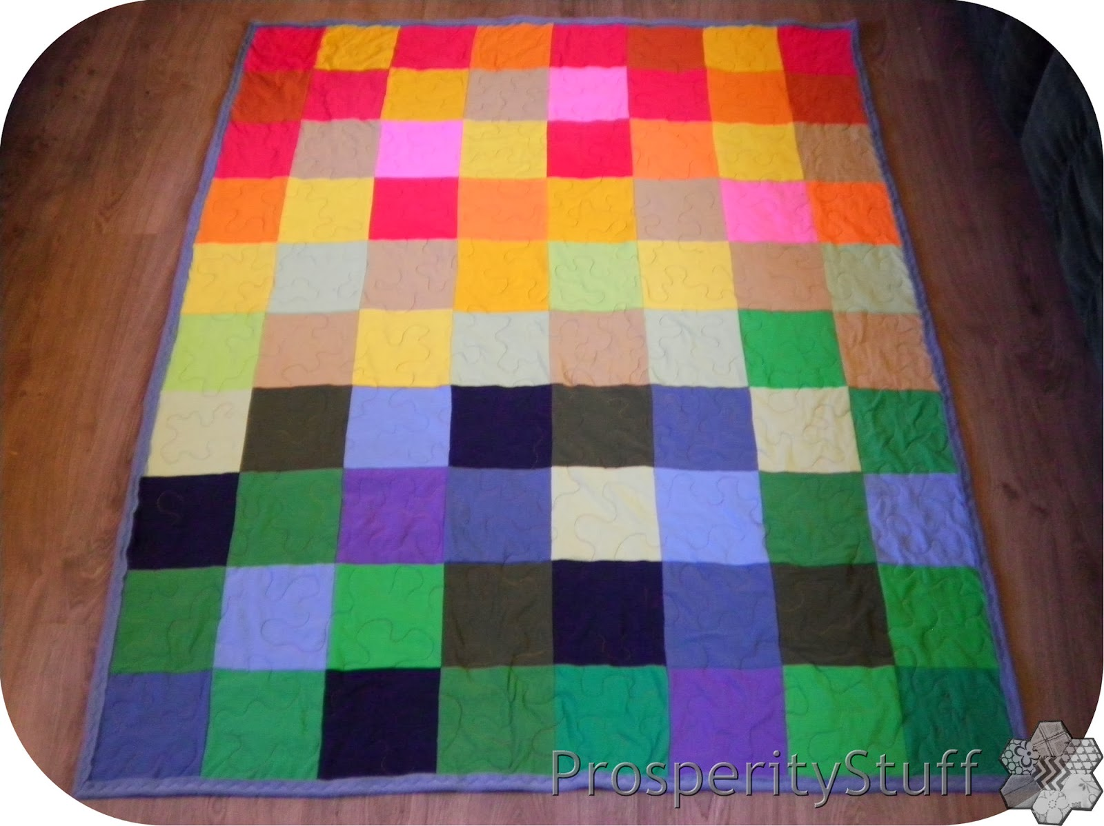 ProsperityStuff Quilts Fleece And T SHIRT Quilt