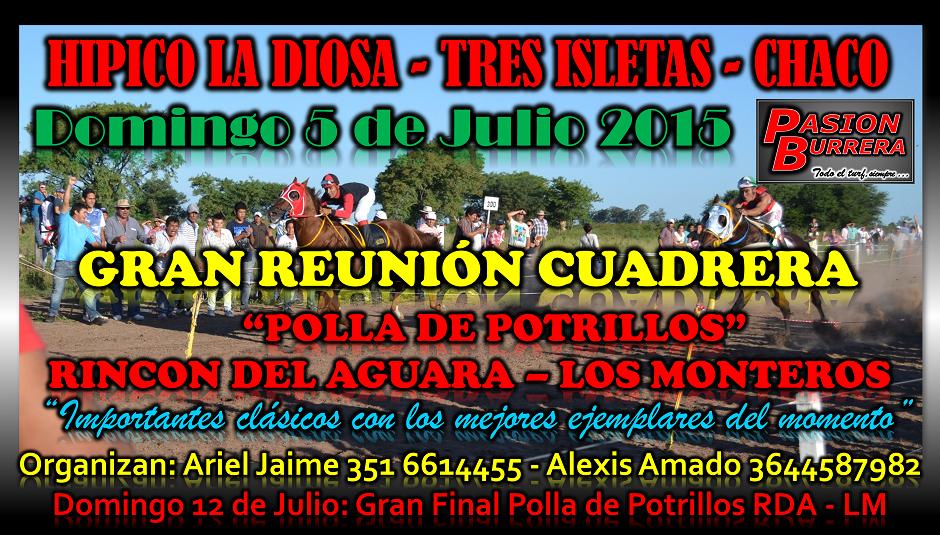 TRES ISLETAS - 5 DE JULIO