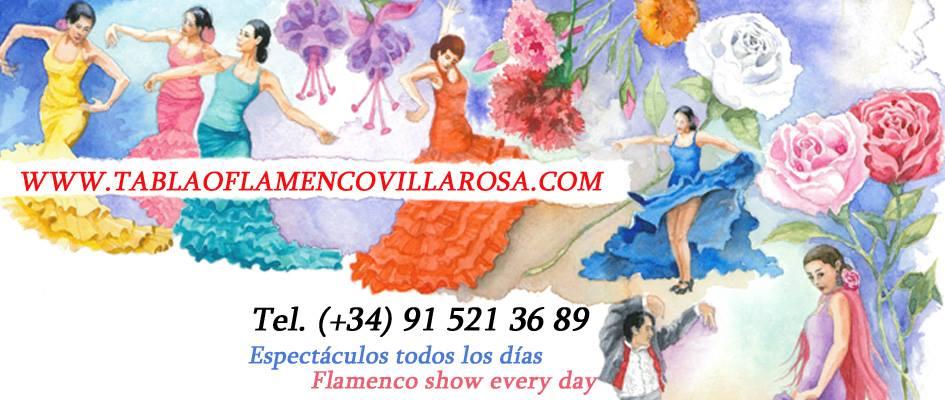 TABLAO VILLA ROSA: FLAMENCO MADRID