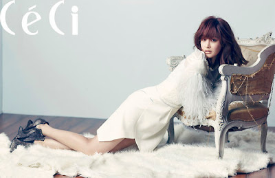 Oh Yeon Seo Ceci Magazine November Issue 2012