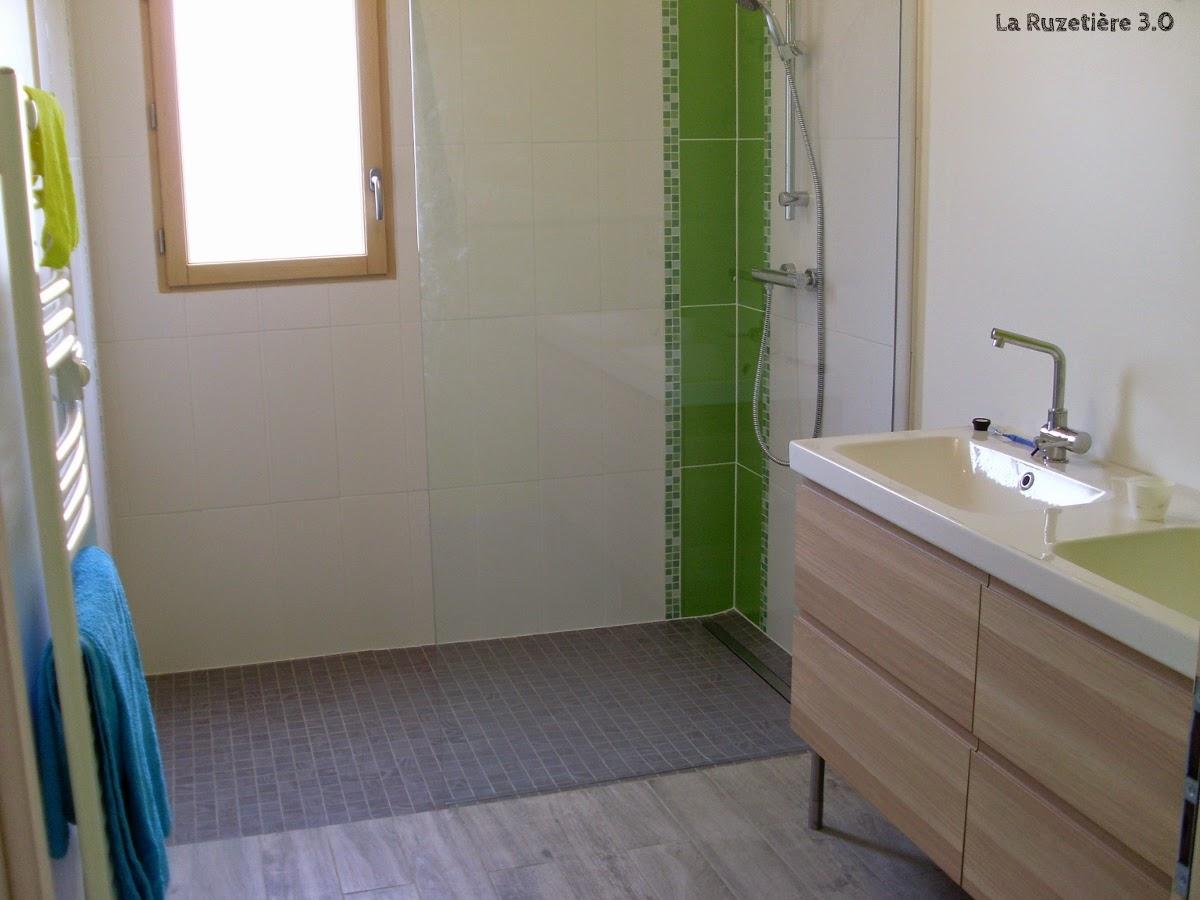 La ruzetière 3.0   maison ossature bois rt 2012: salle de bain et ...
