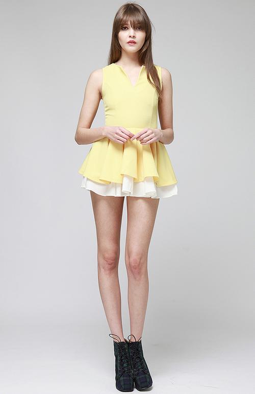 Petticoat Mini Dress