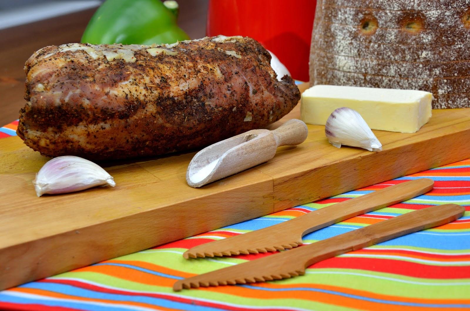 Wędlina parzona (schab), czyli coś pysznego do chleba