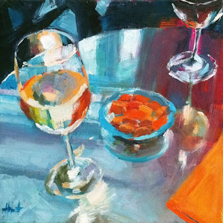 Lets Have a Drink at Oscars! by Liza Hirst