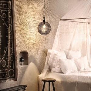 Bohemian style hotel/lulu klein