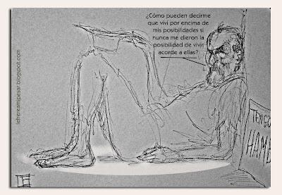 crisis, deshaucio, vivir, posibilidades, ilustración