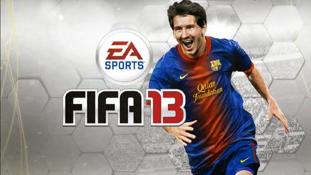EA Sports FIFA 13 game