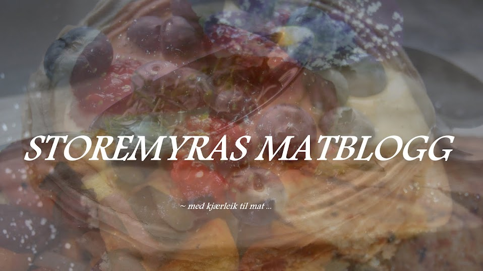 Storemyras matblogg