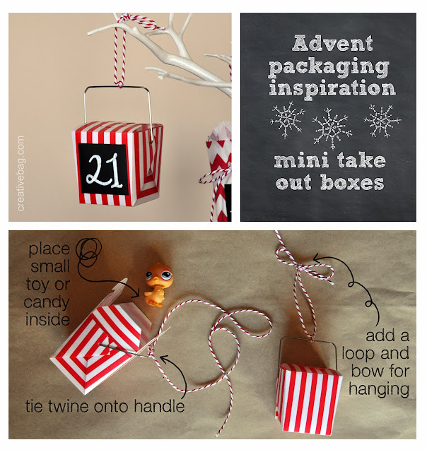 advent tree diy from Creative Bag