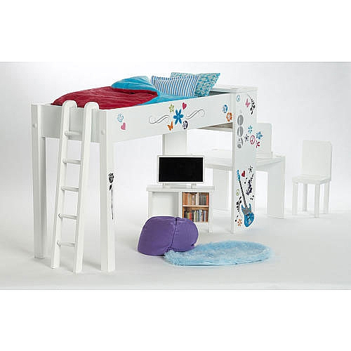 Karen Mom Of Three 39 S Craft Blog Looking For A Great Loft Bed Like Mckenna 39 S For Less