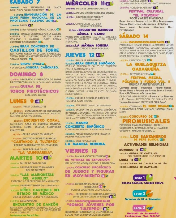Feria de la pirotecnia tultepec 2014