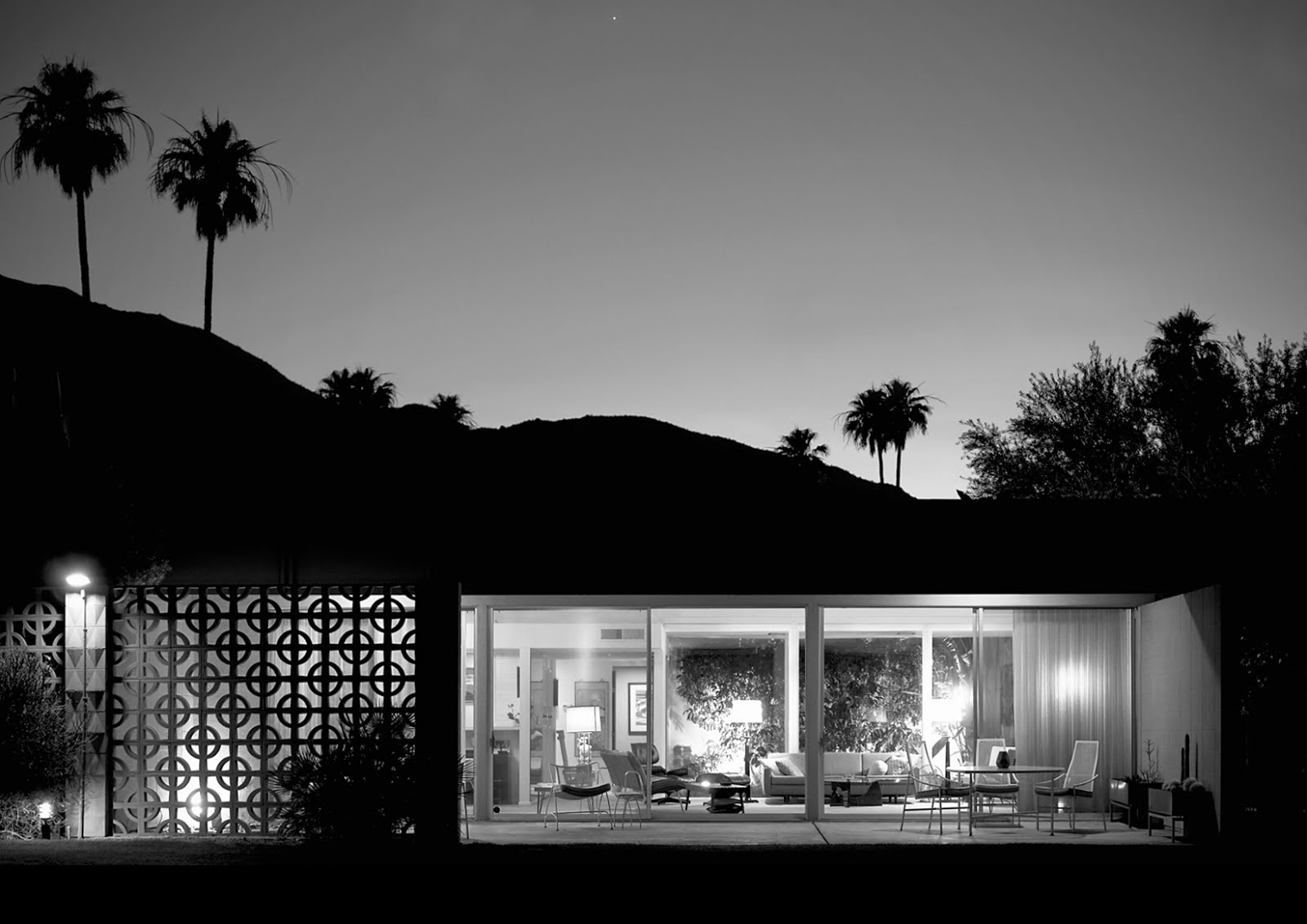 Modern Architecture Orlando mid century decorative concrete screen block | modern design