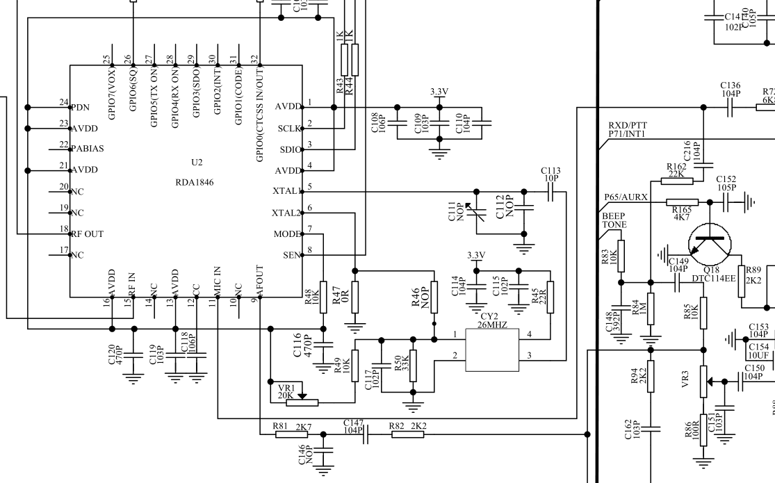brick o lore baofeng uv 5r schematics i wonder if the f8 is for the tyt th f8 and the uv is for the uv 5r just some idle speculation on my part