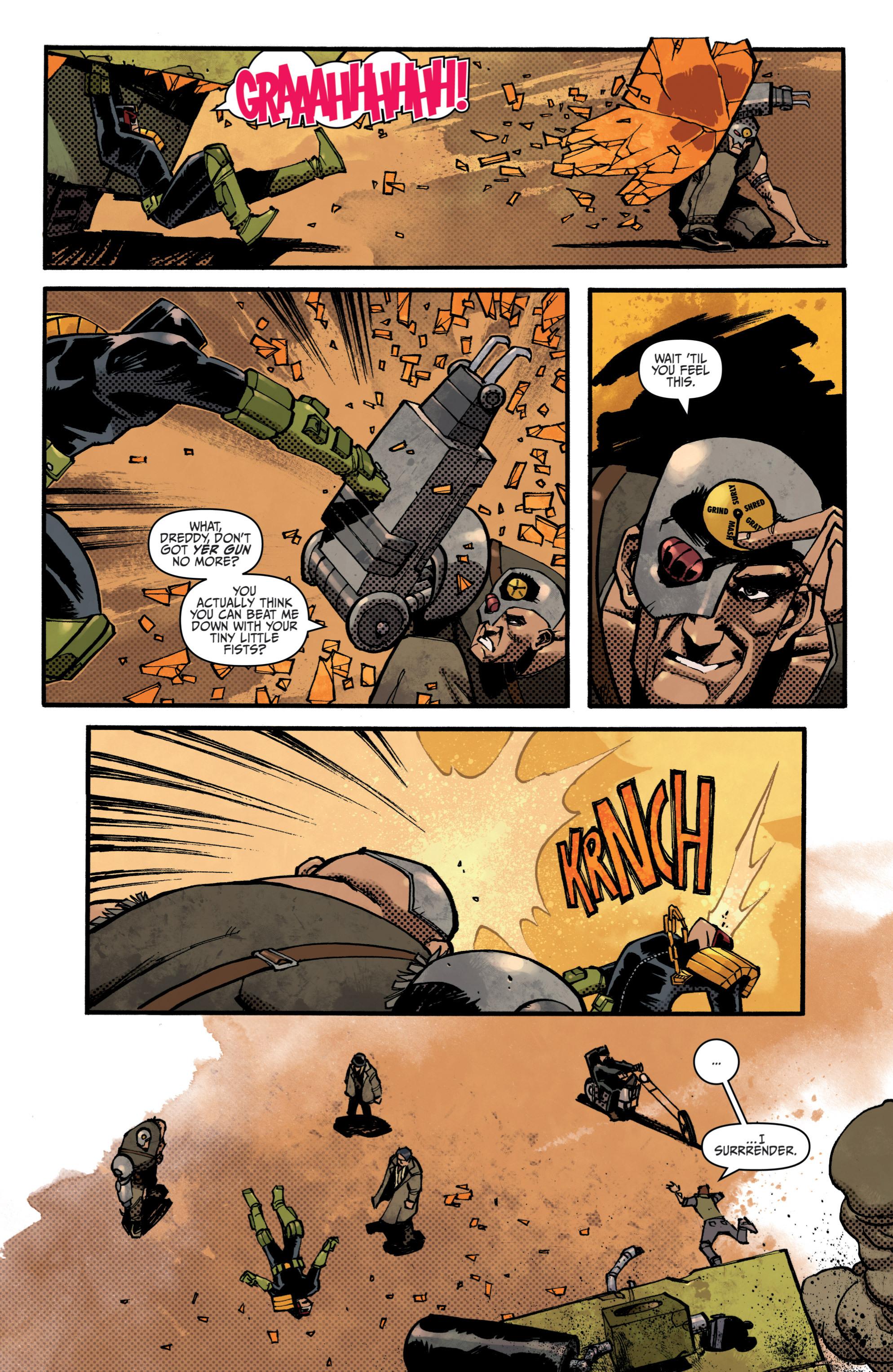 Read online Judge Dredd (2012) comic -  Issue # _TPB 3 - 54