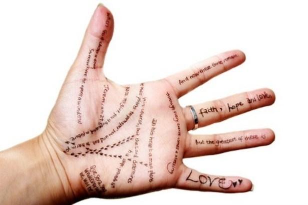 interpretarea liniilor din palma