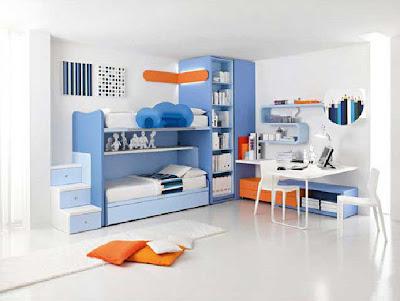 Desain Kamar Tidur untuk Anak Laki-laki